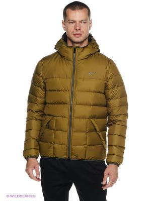 Куртка NIKE ALNCE 550 JCKT HD LT. Цвет: горчичный