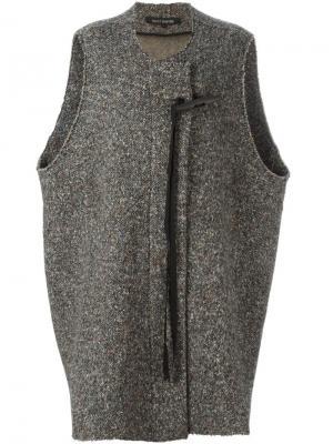 Пальто без рукавов Ter Et Bantine. Цвет: многоцветный