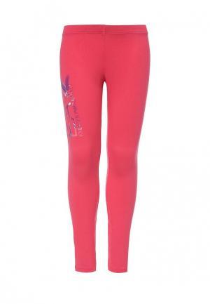 Леггинсы EA7. Цвет: розовый