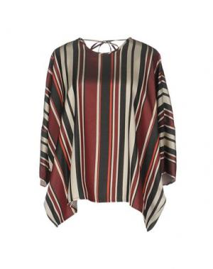 Блузка GOTHA. Цвет: кирпично-красный