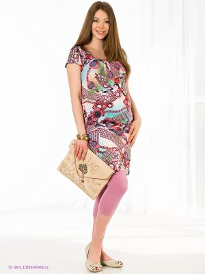 Леггинсы для беременных Nuova Vita. Цвет: бледно-розовый