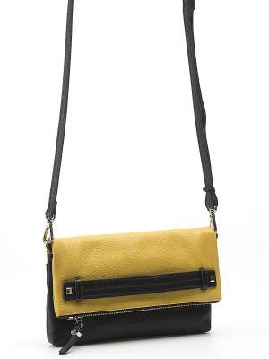 Клатч Pimo Betti. Цвет: черный, желтый