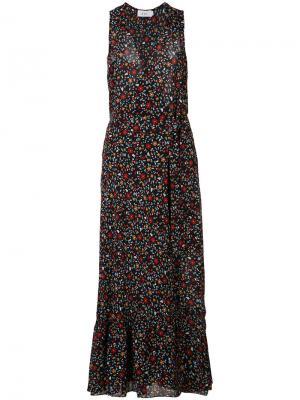 Платье Bella A.L.C.. Цвет: синий