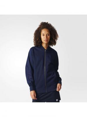 Толстовка XBYO TRACKTOP LEGINK Adidas. Цвет: синий