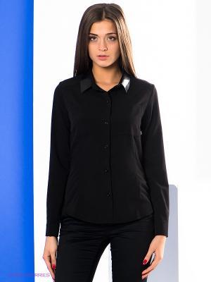 Блузка Say. Цвет: черный