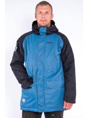 Куртка Pavlotti. Цвет: темно-синий
