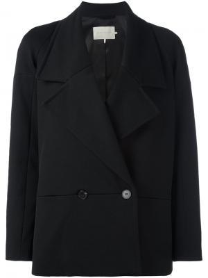 Двубортный пиджак LAutre Chose L'Autre. Цвет: чёрный