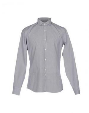 Pубашка AGLINI. Цвет: темно-синий