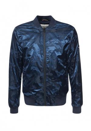 Куртка Tommy Hilfiger Denim. Цвет: синий