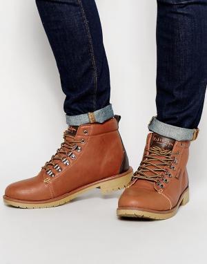 Rock & Religion Походные ботинки. Цвет: коричневый