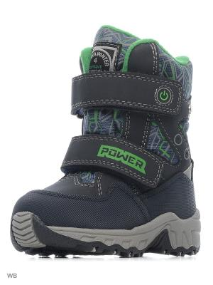 Ботинки Kapika. Цвет: зеленый, темно-синий