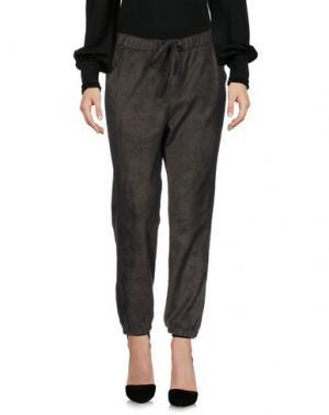 Повседневные брюки BLACK ORCHID. Цвет: зеленый-милитари