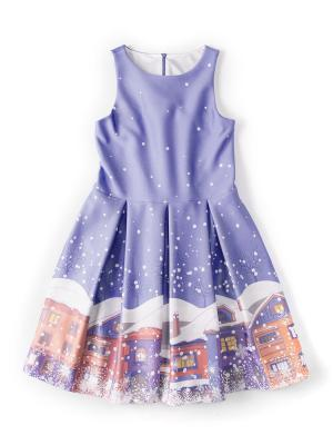 Платье Заснеженный город I love to dream