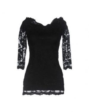 Блузка OLVI'S. Цвет: черный