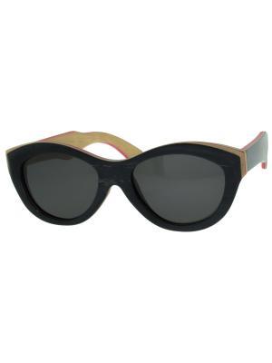 Очки TM0026-G-6-SK SKATEBOARD TEHMODA. Цвет: черный