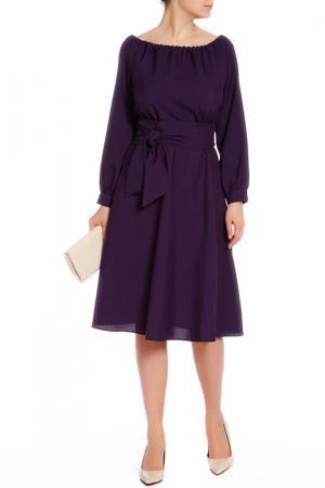Платье Laura Bettini. Цвет: темно-фиолетовый