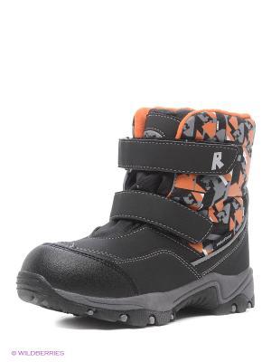 Ботинки REIKE. Цвет: оранжевый