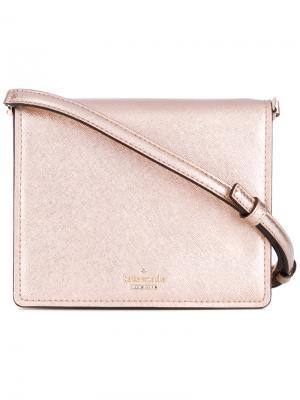 Metallic crossbody bag Kate Spade. Цвет: розовый и фиолетовый
