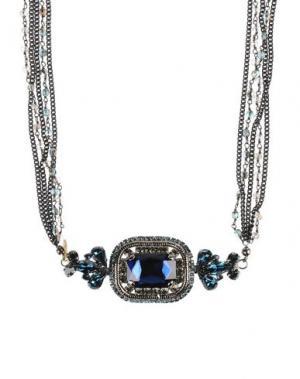 Ожерелье NUR. Цвет: темно-синий