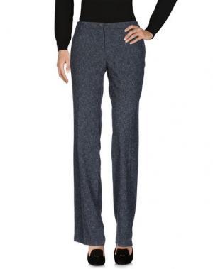 Повседневные брюки NELL&ME. Цвет: стальной серый