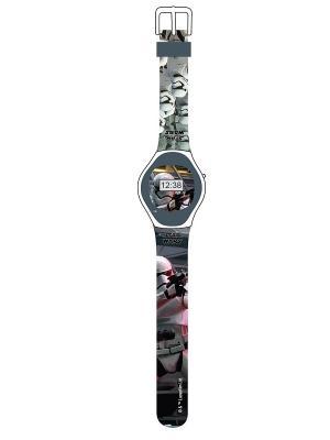 Часы наручные электронные StarWars (Звёздные Войны)-Stormtrooper (Штормтрупер) Star Wars. Цвет: черный, серый, белый