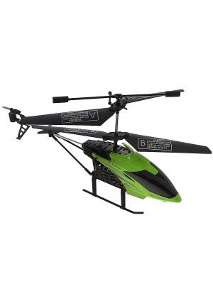 Вертолет на радиоуправлении Ветерок Зеленый ВластелиНебес. Цвет: зеленый