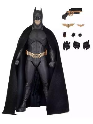Фигурка Batman Begins - 1/4 Scale Figure (Bale) Neca. Цвет: черный, светло-коричневый
