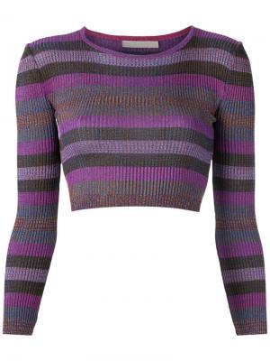 Knit crop top Cecilia Prado. Цвет: розовый и фиолетовый