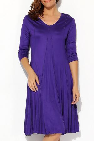 Платье Moda di Lorenza. Цвет: фиолетовый