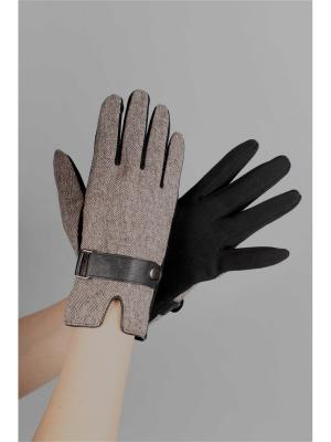 Перчатки Sophie Ramage. Цвет: бежевый