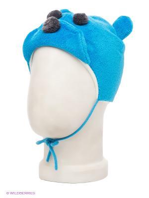 Шапка HUPPA. Цвет: голубой, серый