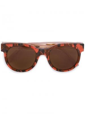 Солнцезащитные очки Avida Zanzan. Цвет: телесный