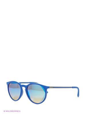 Очки солнцезащитные Ray Ban. Цвет: синий, белый