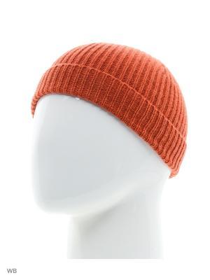 Шапка United Colors of Benetton. Цвет: оранжевый