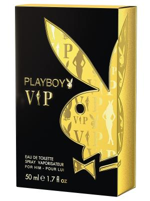 Туалетная водаPlayboy VIP Male 50 мл PLAYBOY. Цвет: прозрачный