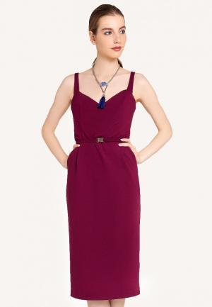 Платье Stimage. Цвет: бордовый