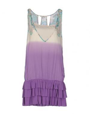 Короткое платье M!A F. Цвет: фиолетовый