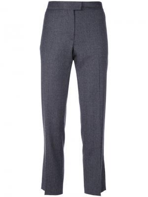 Прямые укороченные брюки Ps By Paul Smith. Цвет: серый