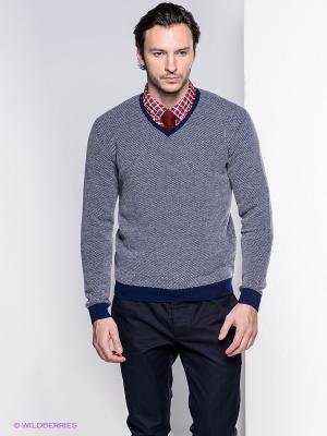 Пуловер Bramante. Цвет: темно-синий, белый