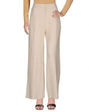 Повседневные брюки DIEGA. Цвет: слоновая кость