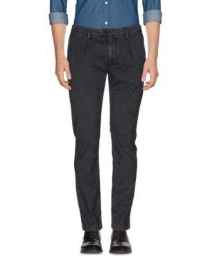 Повседневные брюки TELERIA ZED. Цвет: стальной серый