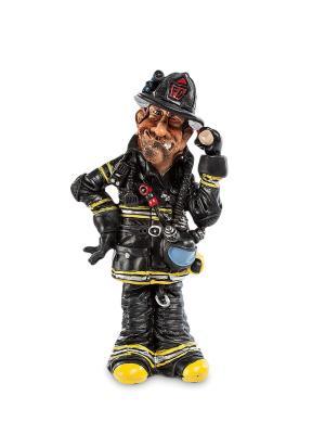 Статуэтка Пожарный The Comical World of Stratford. Цвет: черный