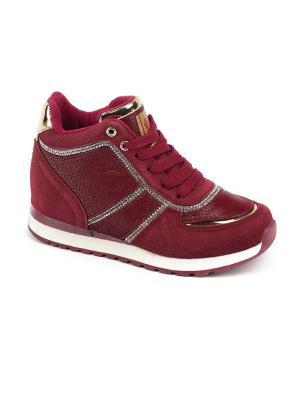 Сникеры King Boots. Цвет: красный