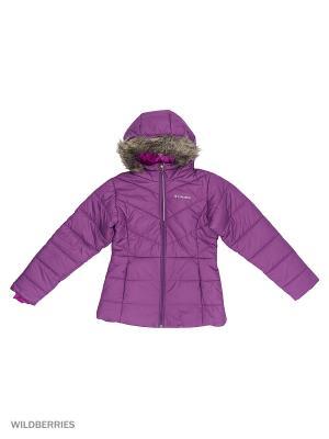 Куртка Columbia. Цвет: фиолетовый