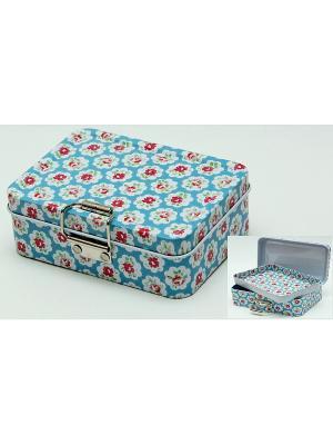 Коробка для безделушек и мелочей Цветные облака Magic Home. Цвет: белый
