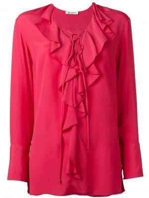 Блузка Bisa Dondup. Цвет: розовый и фиолетовый