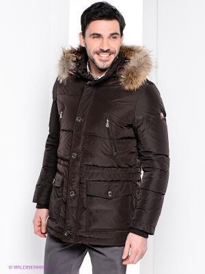 Куртка Bogner Jeans. Цвет: коричневый