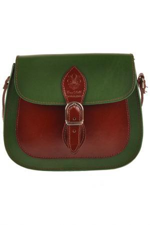 Сумка FLORENCE BAGS. Цвет: green, brown