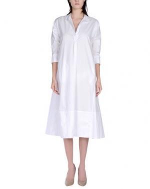 Платье длиной 3/4 TOTON COMELLA - TCN. Цвет: белый