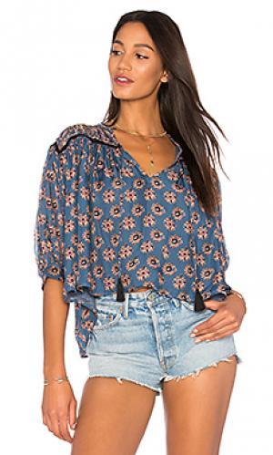 Блузка tarahumara Carolina K. Цвет: синий